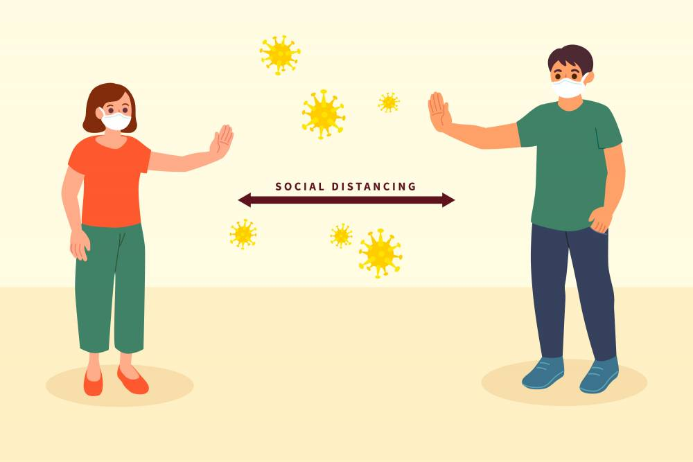 Why social distancing is important while paying your vehicle taxes.